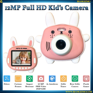 12MP Kid's Camera Rabbit