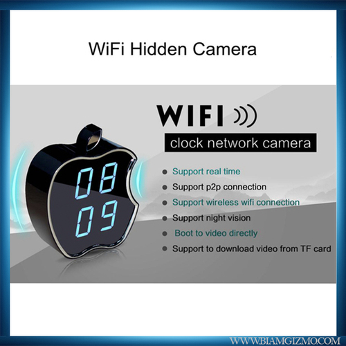 Wifi Apple Clock